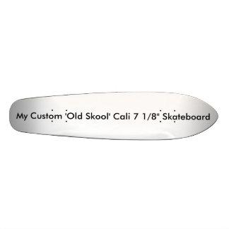 """""""Vieux Skool"""" fait sur commande Cali 7 1/8"""" Plateaux De Skateboards"""