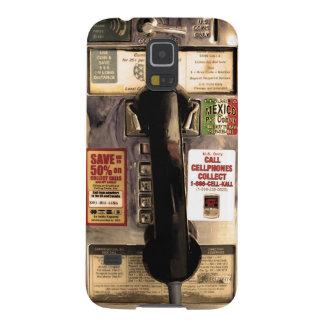 Vieux téléphone payant drôle coque galaxy s5