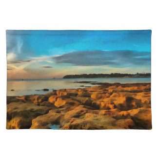 View Across Bembridge Bay, Isle of Wight Placemat