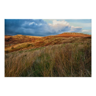 View Across the Moors Poster