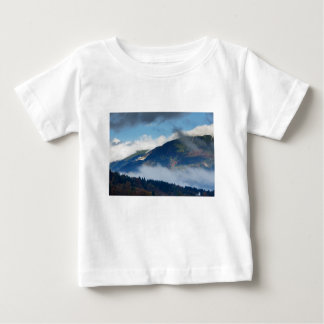 View across to Saint Catherine's Church near Bled Baby T-Shirt