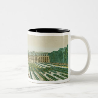 View and Perspective of the Palais Royal from the Two-Tone Coffee Mug