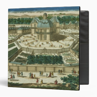 View and Perspective of the Salon de la Menagerie 3 Ring Binder