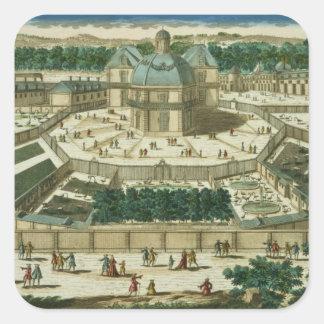 View and Perspective of the Salon de la Menagerie Stickers