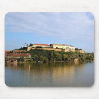 View at Petrovaradin fortress near Novi Sad Mouse Pad