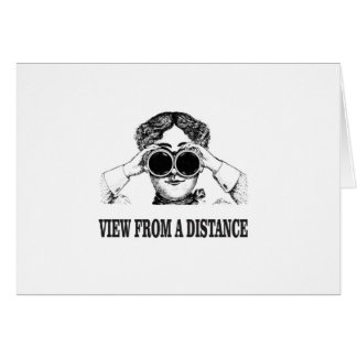 view from a distance card