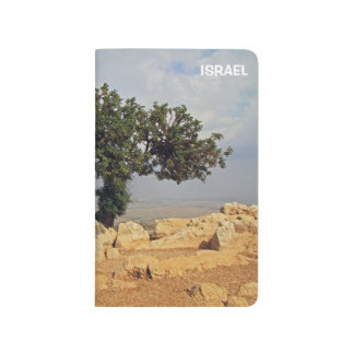 View from Arbel in Israel on a Pocket Journal