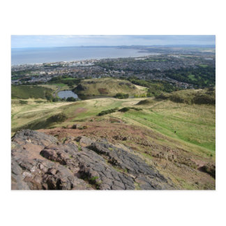 View from Arthur's Seat, Edinburgh, Scotland Postcard