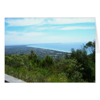 View from Arthur's Seat, Victoria Card