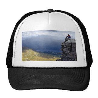 View from Ben Vorlich, Loch Lomond, Britain Europe Mesh Hat