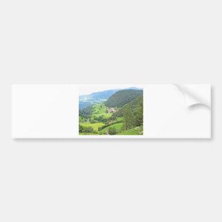 View from Castelrotto Bumper Sticker