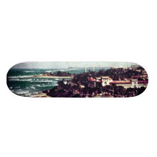 """View from Castillo de San Cristobal"" Skateboard"
