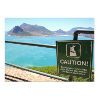View from Chapman's Peak Drive outside Cape Town Cards