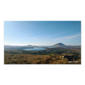 View from Connemara National Park, Ireland Photo Print