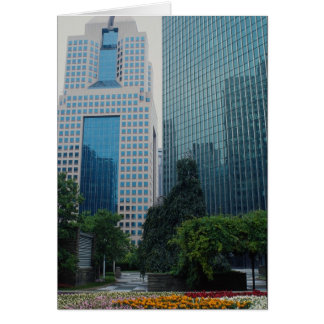 View from Equitable Plaza, Pittsburgh, Pennsylvani Greeting Card