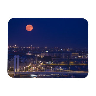 View from Fishermens Bastion next to Matyas Rectangular Photo Magnet
