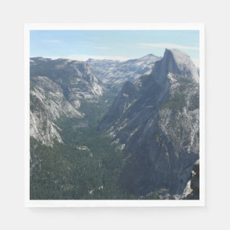 View from Glacier Point in Yosemite National Park Disposable Napkin