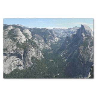 View from Glacier Point in Yosemite National Park Tissue Paper