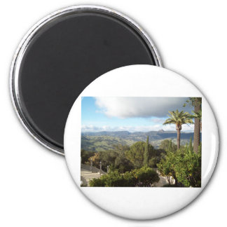 View from Hearst Castle Magnet