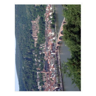 View from Heidelberg, Germany Contents Credits Lic Postcard