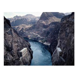 View from Hoover Dam, Nevada/Arizona, USA Postcard