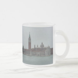 View from Inside Doges Palace, Venice 3, Frosted Glass Coffee Mug