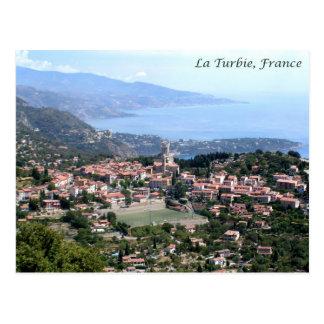 View from La Turbie, France Postcard
