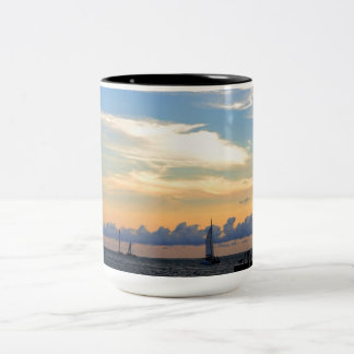 View From  Mallory Two-Tone Coffee Mug
