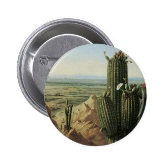 View from Maricopa Mountain Near Rio Gila by Pratt 2 Inch Round Button