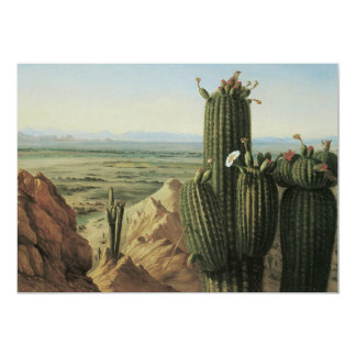 "View from Maricopa Mountain Near Rio Gila by Pratt 5"" X 7"" Invitation Card"