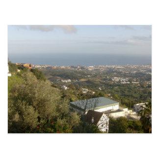 View from Mijas, Spain Postcard