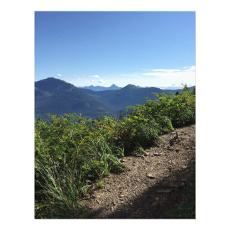 View from Mount Juneau Letterhead Design