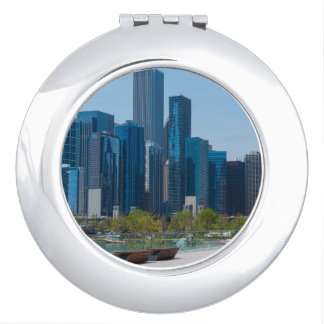 View From Navy Pier Compact Mirrors