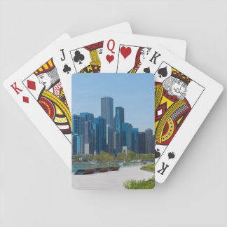 View From Navy Pier Playing Cards