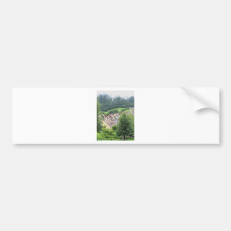 View from Ortisei Bumper Sticker