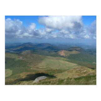 View from Puy de Dôme Postcard
