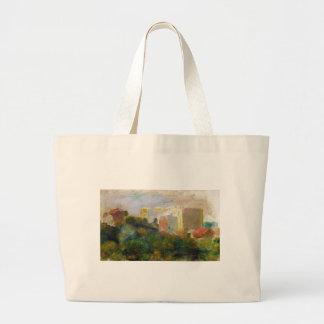 View from Renoir's Garden in Montmartre Jumbo Tote Bag