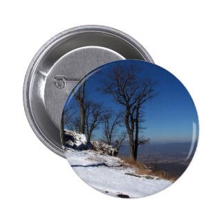 """View from Skyline Drive, VA "" 2 Inch Round Button"