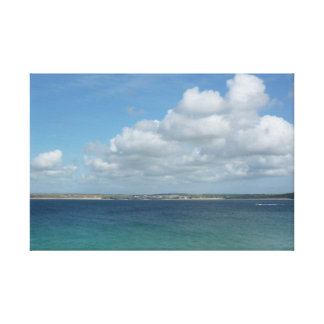 View from St Ives Canvas Print
