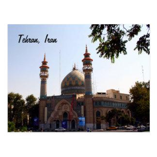View from Tehran Postcard