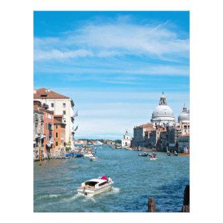 View from the bridge in Venice Letterhead