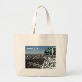View From the Eye Jumbo Tote Bag