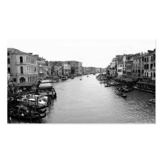 View from the Rialto Bridge in Venice Business Card