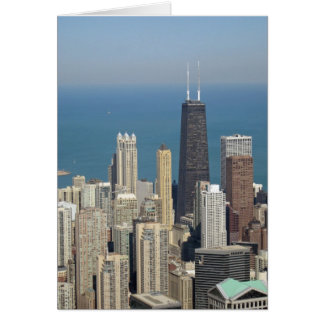 View from the Sears Tower 3 Card