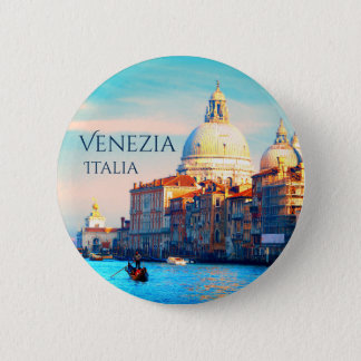 View From Venice, Italy 2 Inch Round Button