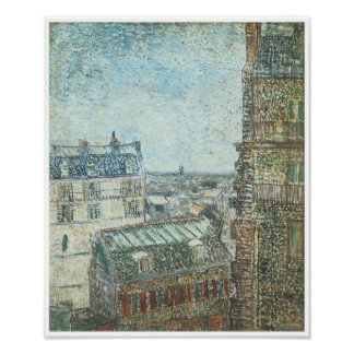 View from Vincent's Window, Vincent Van Gogh Poster