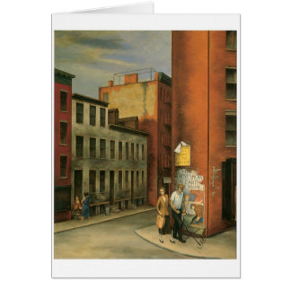 View in Chambers Street, New York City c. 1936 Card