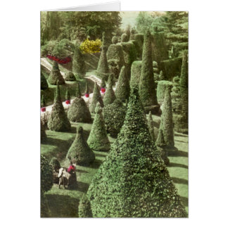 View in Mr. Hunnewell's Grounds, Wellesley, Mass Greeting Card