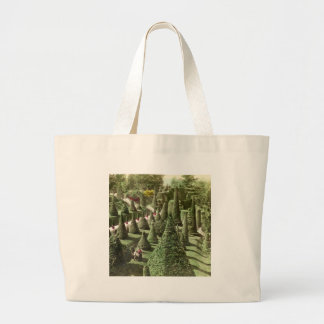 View in Mr. Hunnewell's Grounds, Wellesley, Mass Jumbo Tote Bag
