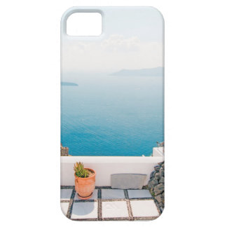 View in Santorini island Case For The iPhone 5